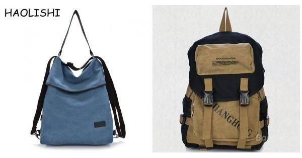 BangGood - Eachine1 Women Canvas Handbags Girls Casual Shoulder Bags  Backpacks Crossbody Bags - AdoreWe. e149c18843ed4