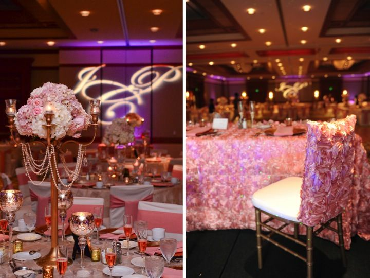 Elegant Pink and Gold Florida Wedding | Elegant, Wedding and Weddings