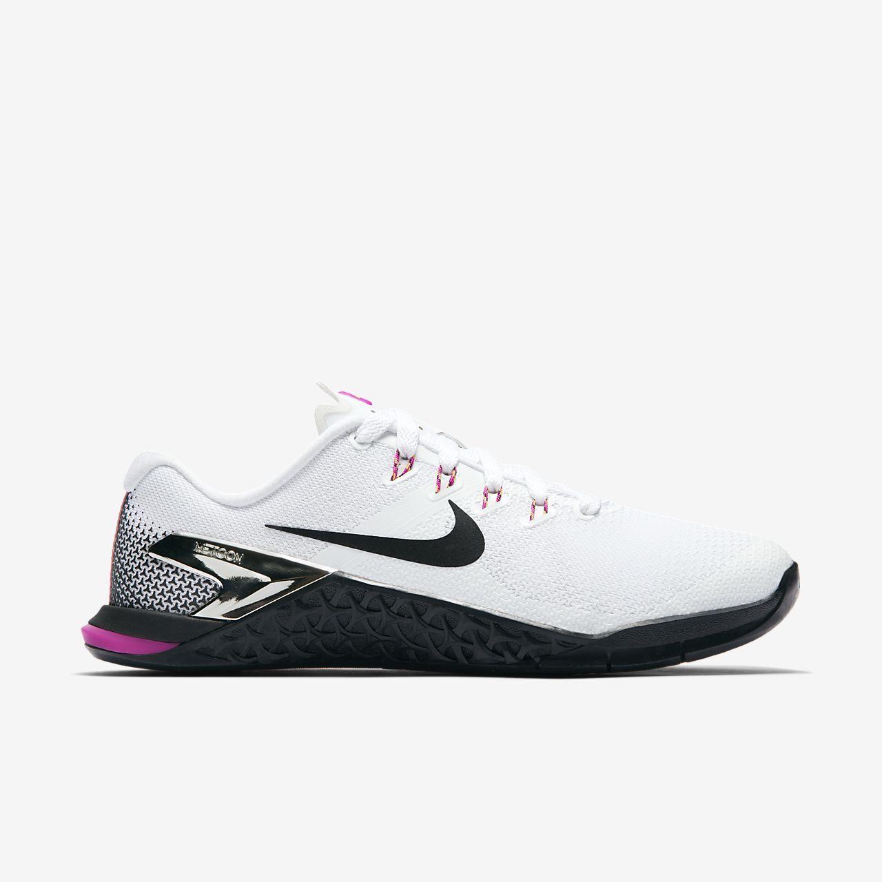 Calzado de cross training y levantamiento de pesas para hombre Nike Metcon 4