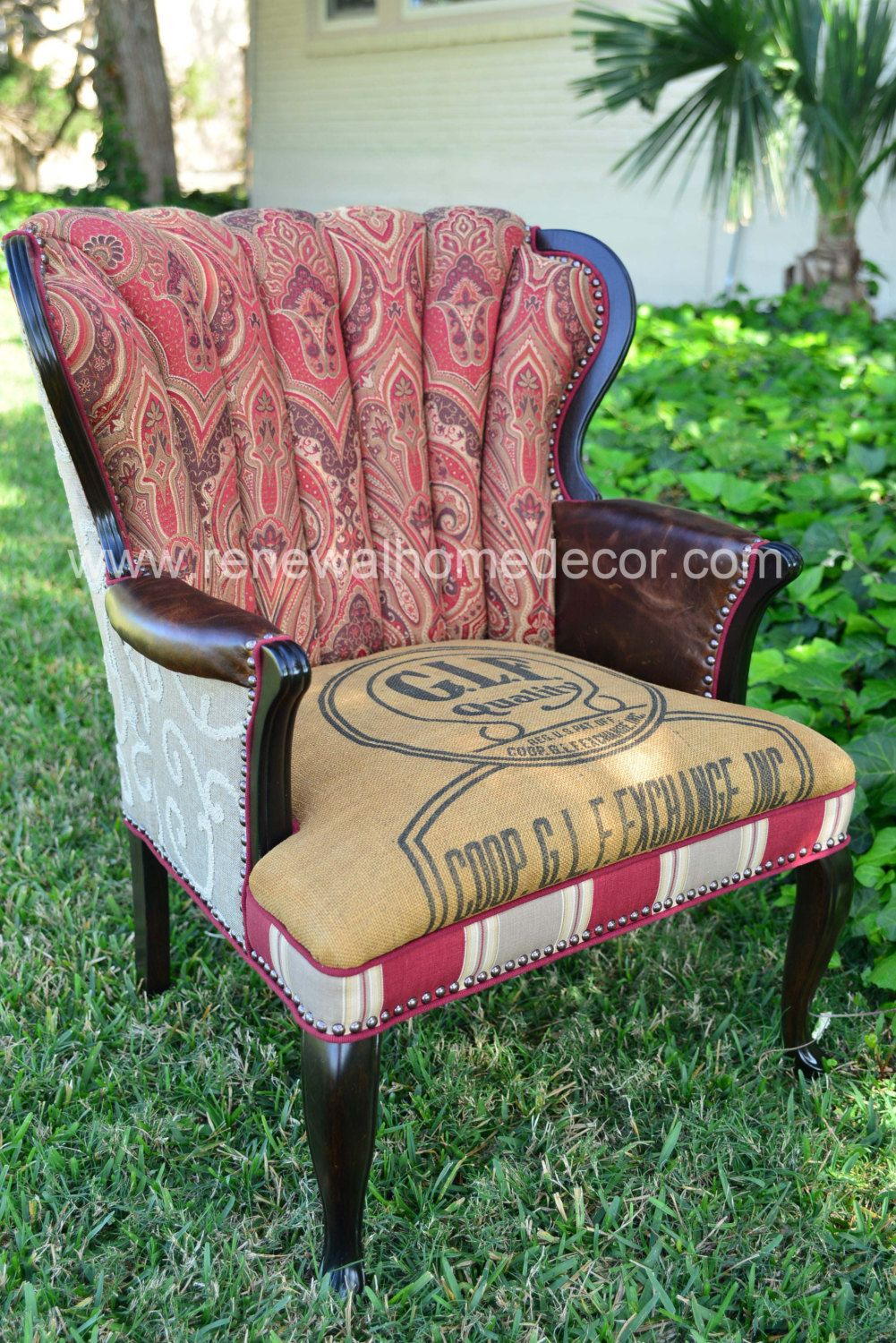 Best Vintage Accent Chair The Paisley Lady Chair By 640 x 480
