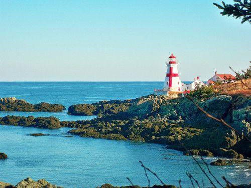 Canada, New Brunswick, Campobello Island. East Quoddy