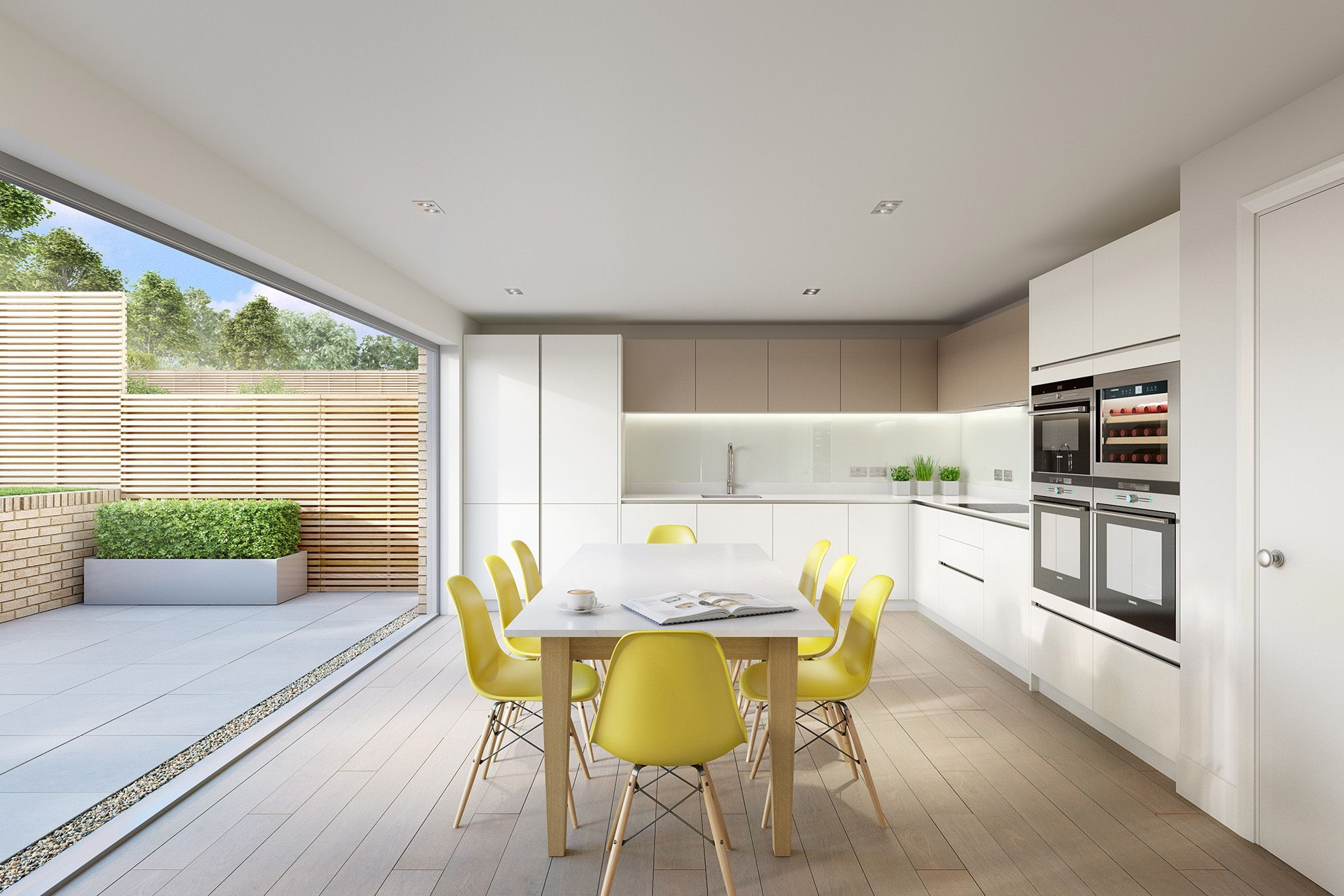 CGI of Boo Homes kitchen in Cheltenham Home, Home
