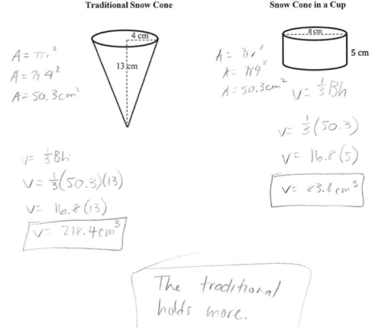 Volume Of Spheres Worksheet Volume Worksheet For Kindergarten Kids Worksheets Printables Volume Worksheets Worksheets [ 1072 x 1254 Pixel ]