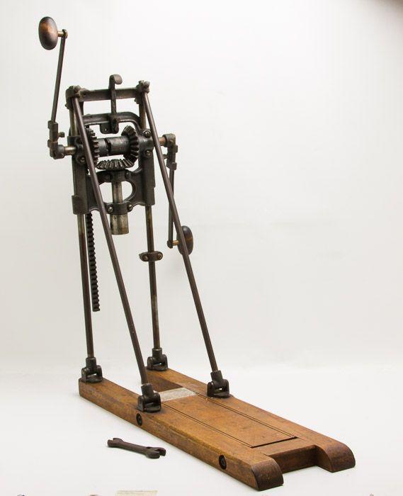 Magnificient MILLERS FALLS Boring Machine | Beautiful tools ...