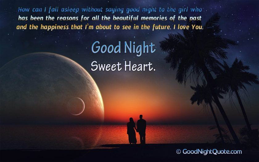 Romantic Good Night Messages For Her Thinking Of You Good Night Quote Miss You Good Night Q Romantic Good Night Good Night Honey Romantic Good Night Messages