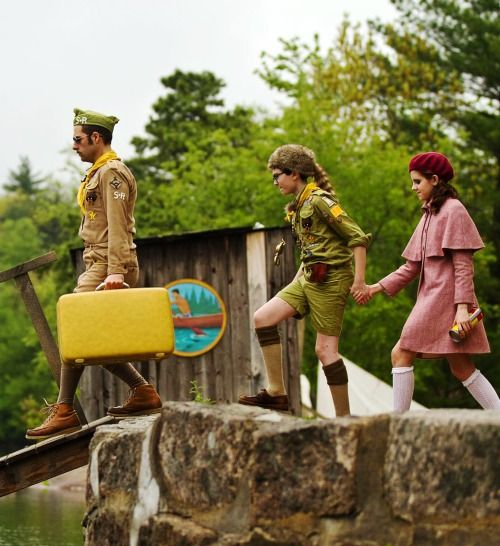 Moonrise Kingdom - Jason Schwartzman, Jared Gilman & Kara Hayward