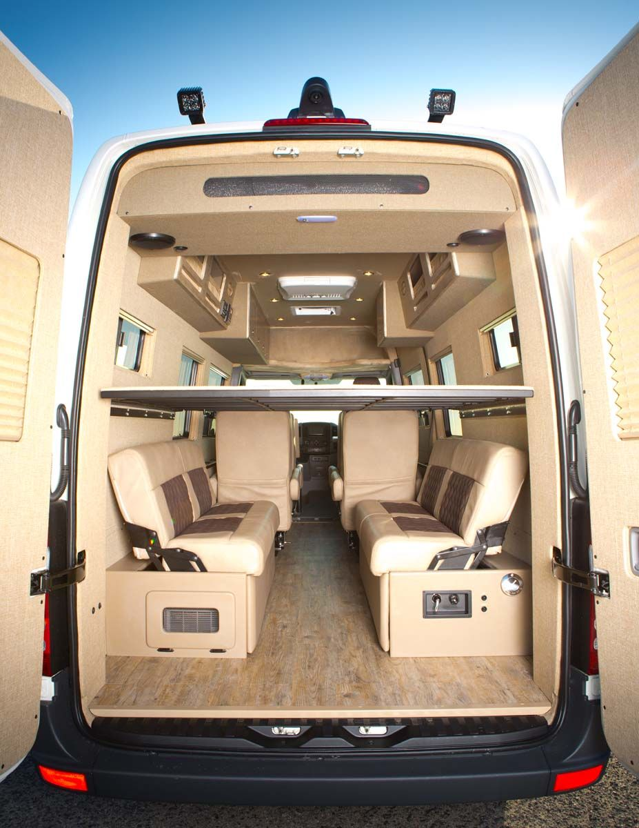 undefined Van, Custom camper vans, Van conversion seats