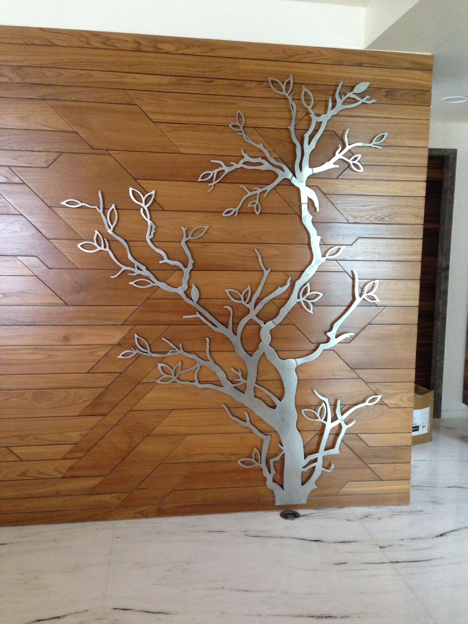 Stainless Steel Tree Times Art Tree Wall Decor Wall Wood Wall Art