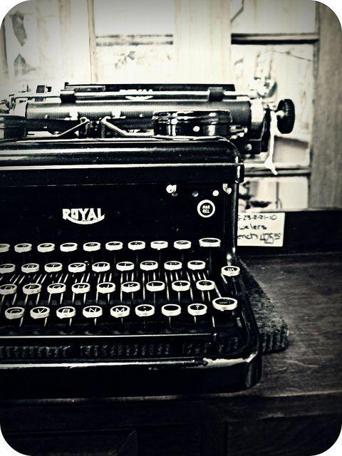 Image result for writing old typewriter