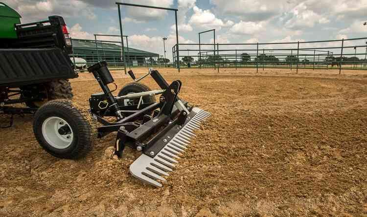 Atv Driveway Graders Gravel Rascal Abi Attachments Sub Compact Tractors Atv Compact Tractors