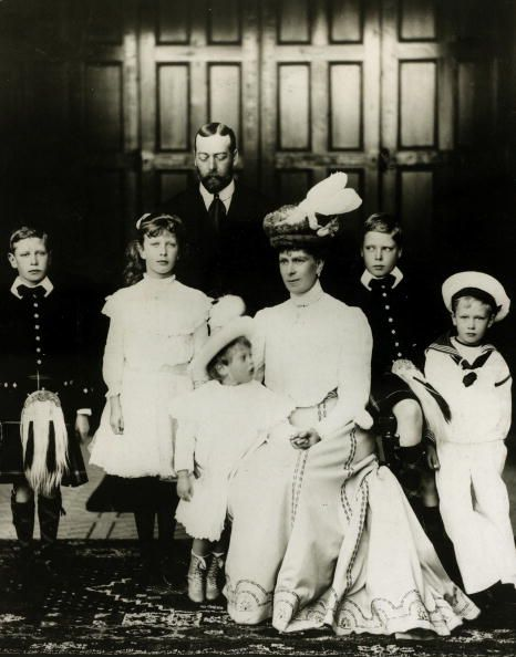 View pictures from British Royalty. pic: 1906. The Royal Family,The Prince and Princess of Wales with their children, left-right, Prince Albert, Princess Mary, Prince George, Prince Edward, Prince Henry.. Get access to the latest celebrity event photos and entertainment news at Getty Images.