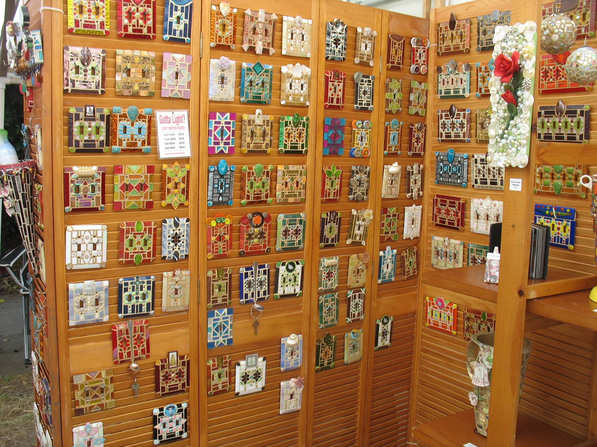 Arts and crafts switch plate covers - Find This Pin And More On Cedarhurst Craft Fair