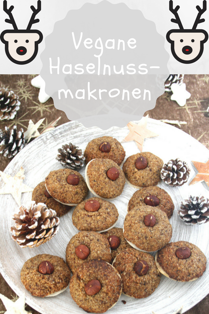 Photo of Vegan hazelnut macaroons: These cookies can be conjured up super quickly – and …