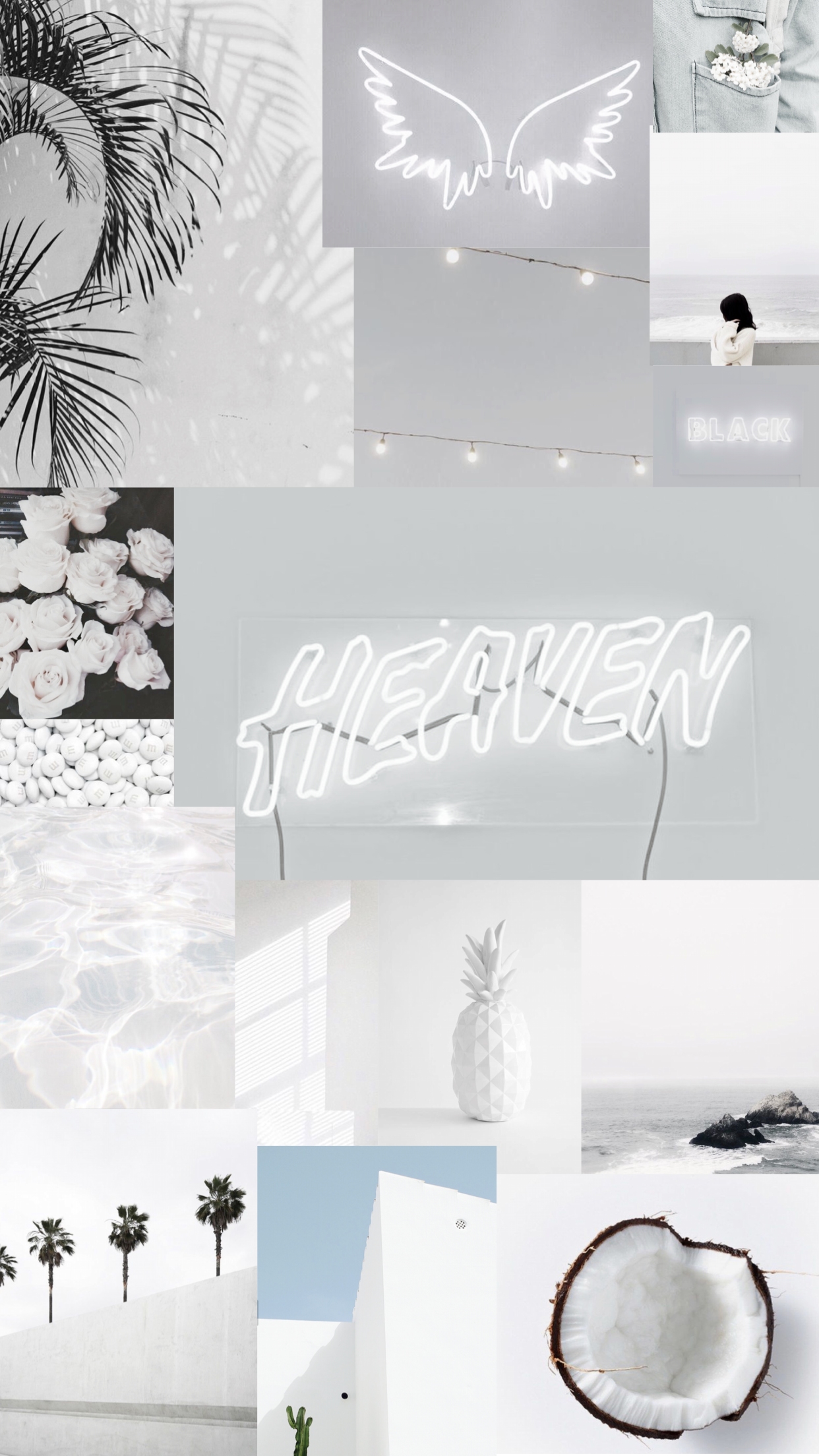 Best 9 White Aesthetic Iphone Wallpaper
