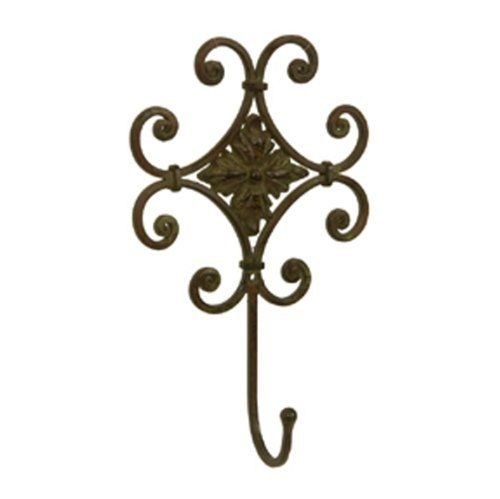 Set of 2 Wrought Iron Wall Decor Hook by Olivia Wong. $19.99... Get ...
