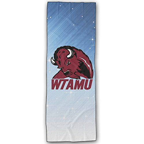 West Texas Am Buffaloes Logo Yoga Mat Towel Click Image For More Details This Is An Affiliate Link Yogaaccessories Buffalo Logo Yoga Mat Towel Logo Yoga