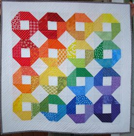 Awesome rainbow quilt