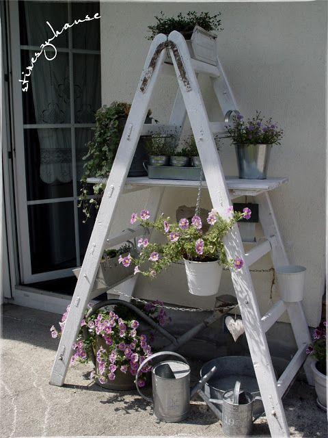 Im Garten Ist Doch Noch Platz Stineszuhause Gartenleiter Garten Garten Ideen