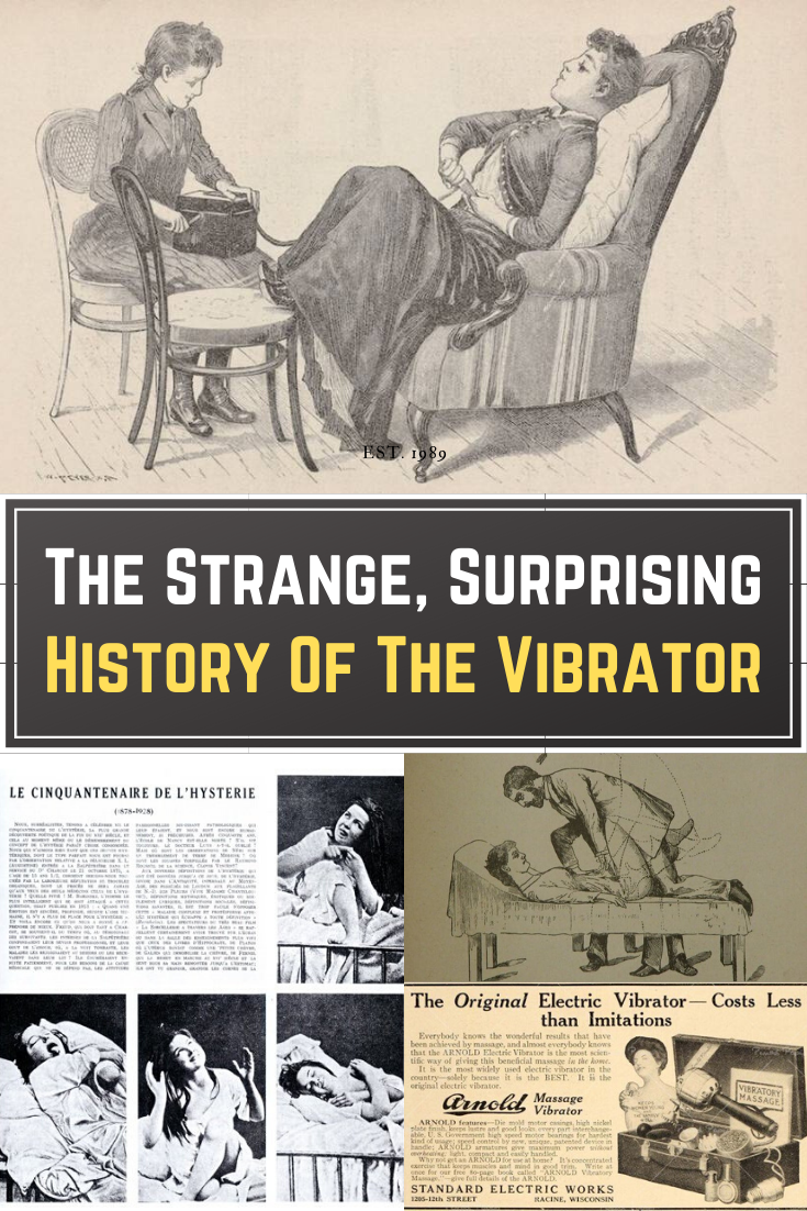 Latest Funny Pins The Strange, Surprising History Of The Vibrator In the U.S. alone, the vibrator is a billion dollar industry. But how long have they really been around, and who invented them? 9