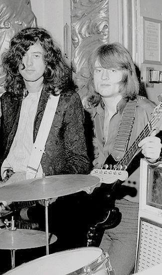 Jimmy Page - John Paul Jones