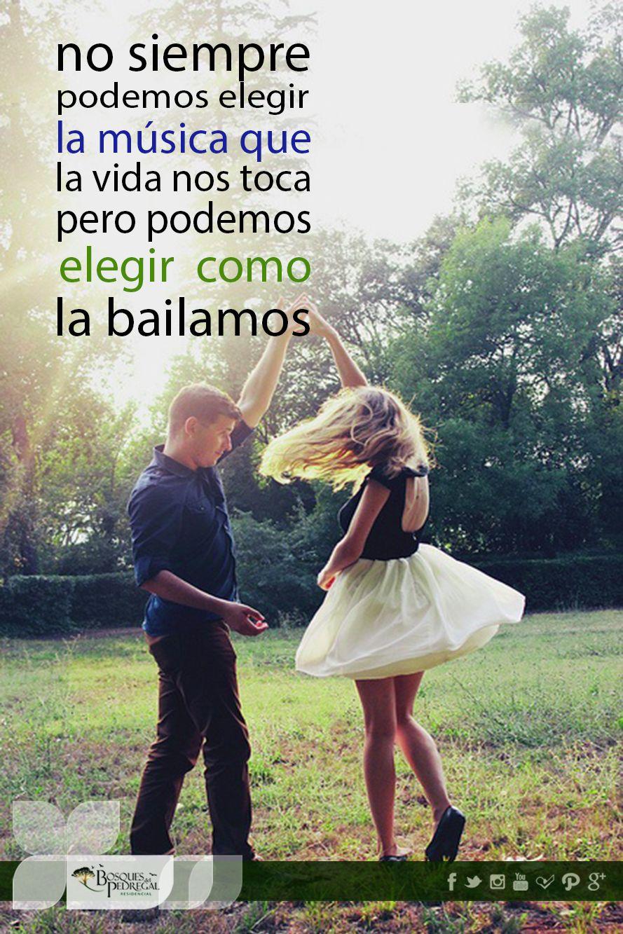 Baila tu vida como quieras, pero siempre dale sentido y una ilusión ...
