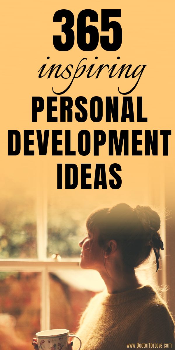 365 Personal Development Ideas for You