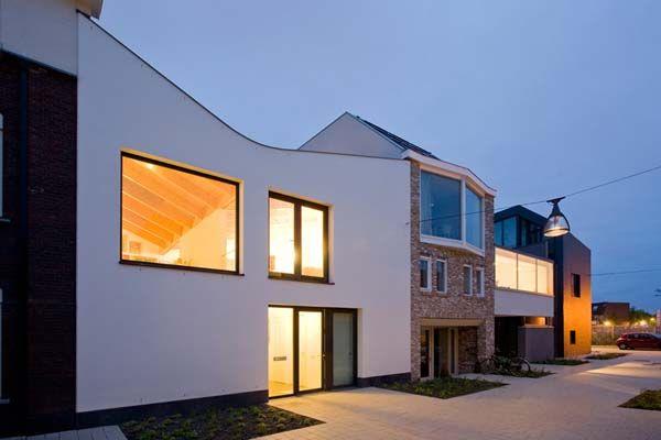 Bemerkenswert V-House Interior Design-Ideen in Leiden: Außenwohndesign Von V Haus ~  Hause Design Inspiration