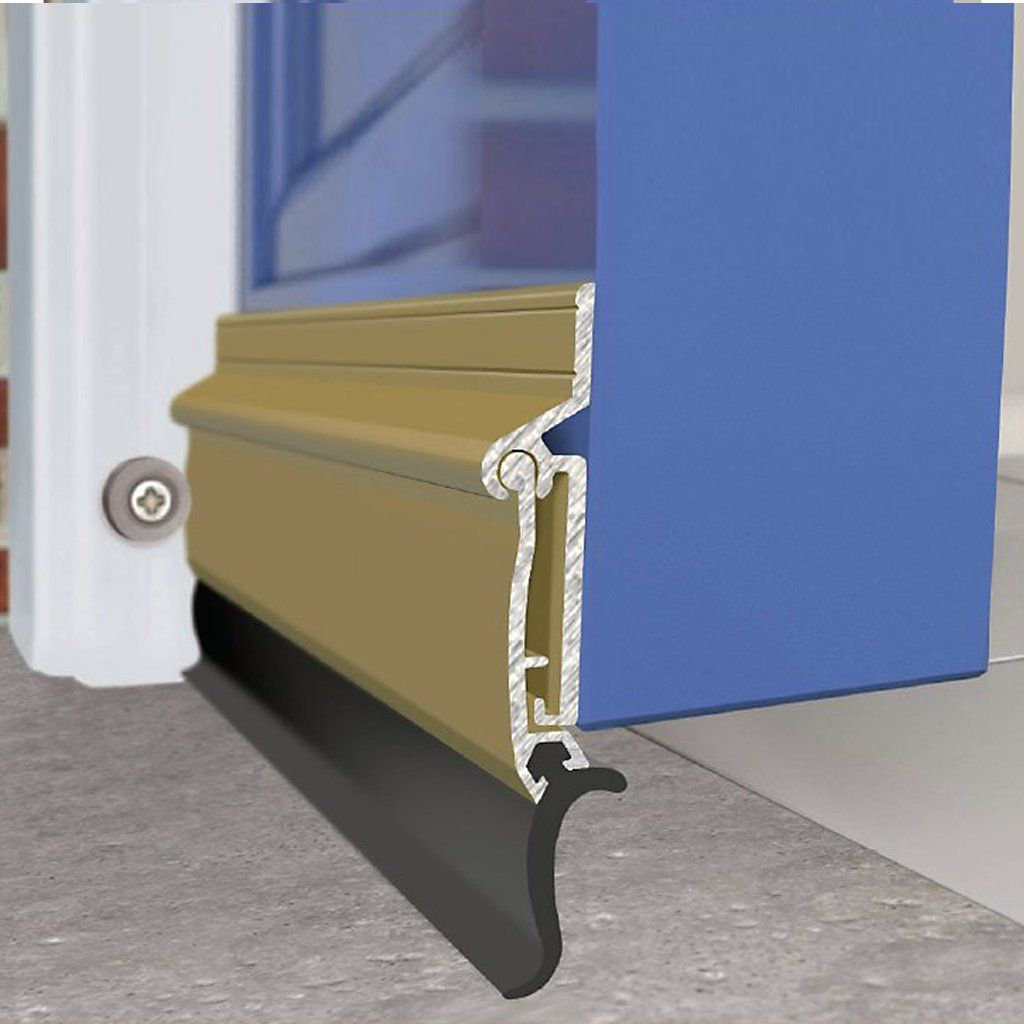 Exitex Auto Seal Threshold Draught Excluder 4 Sizes And 2 Finishes