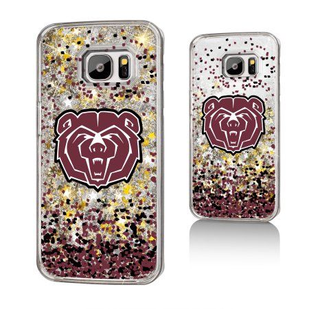 Missouri State University Gold Glitter Galaxy S7 Case