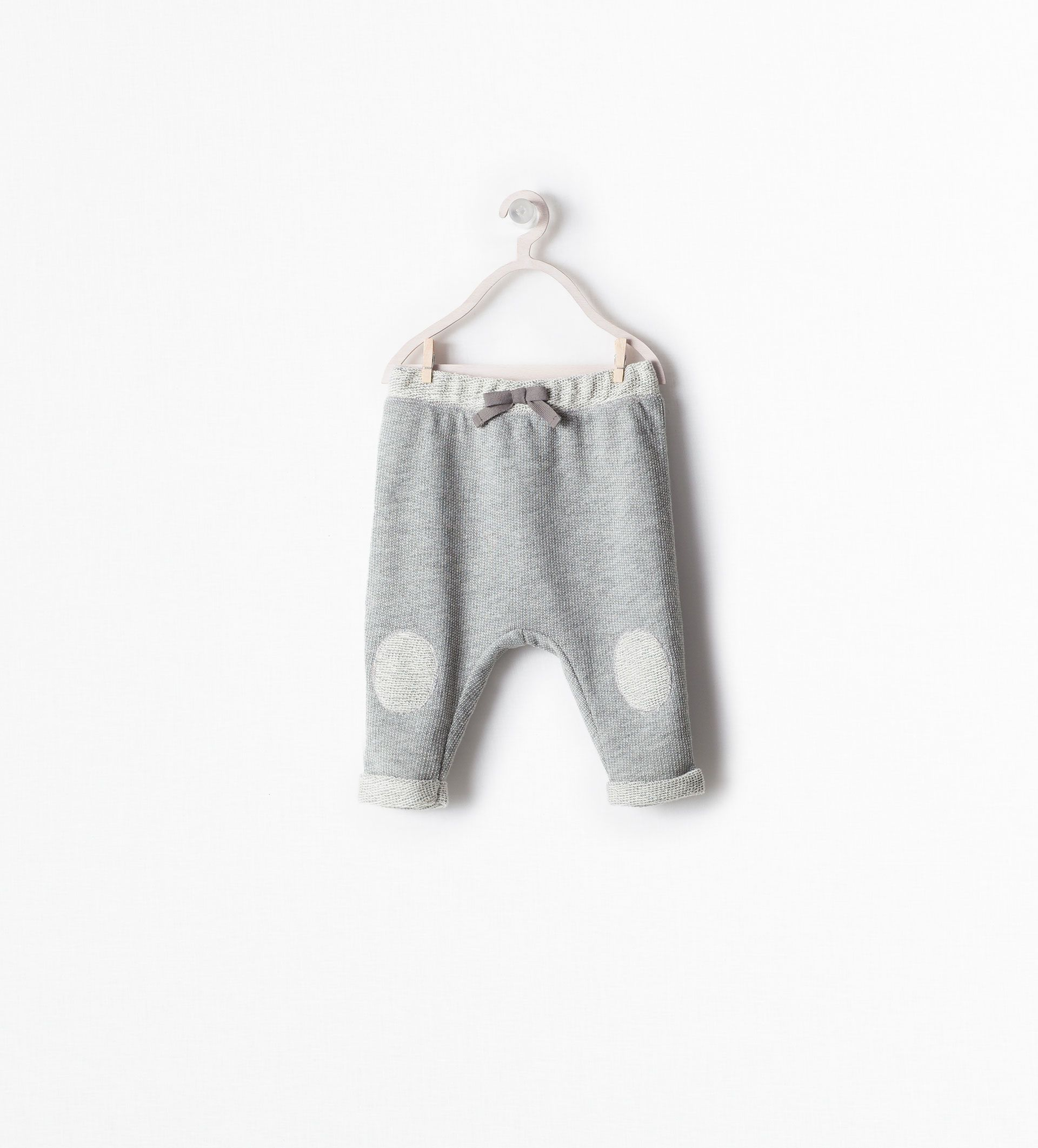 110481aa15e35a TROUSERS WITH KNEE PATCH - purchase 6 - 12 mo Cotton Harem Pants, Cute Baby