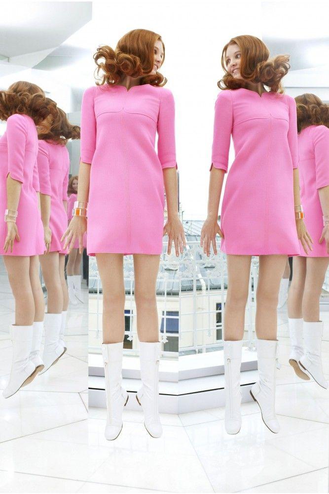 Courreges Dress Idees De Mode Courreges Style Annee 60
