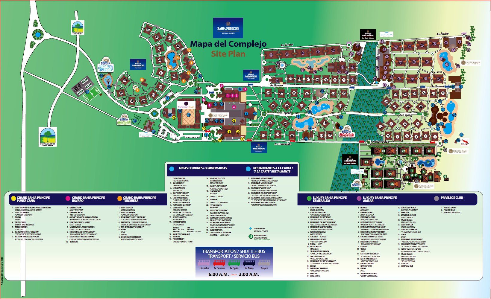 Grand Bahia Principe Punta Cana Map Map Layout Gran Bahia Principe Turquesa (ex. Premier) | Places we