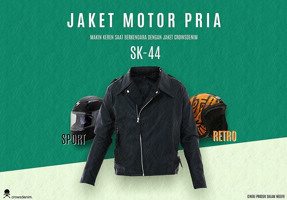 Jaket Kulit Korean Style (SK44) di 2020 Jaket, Jaket
