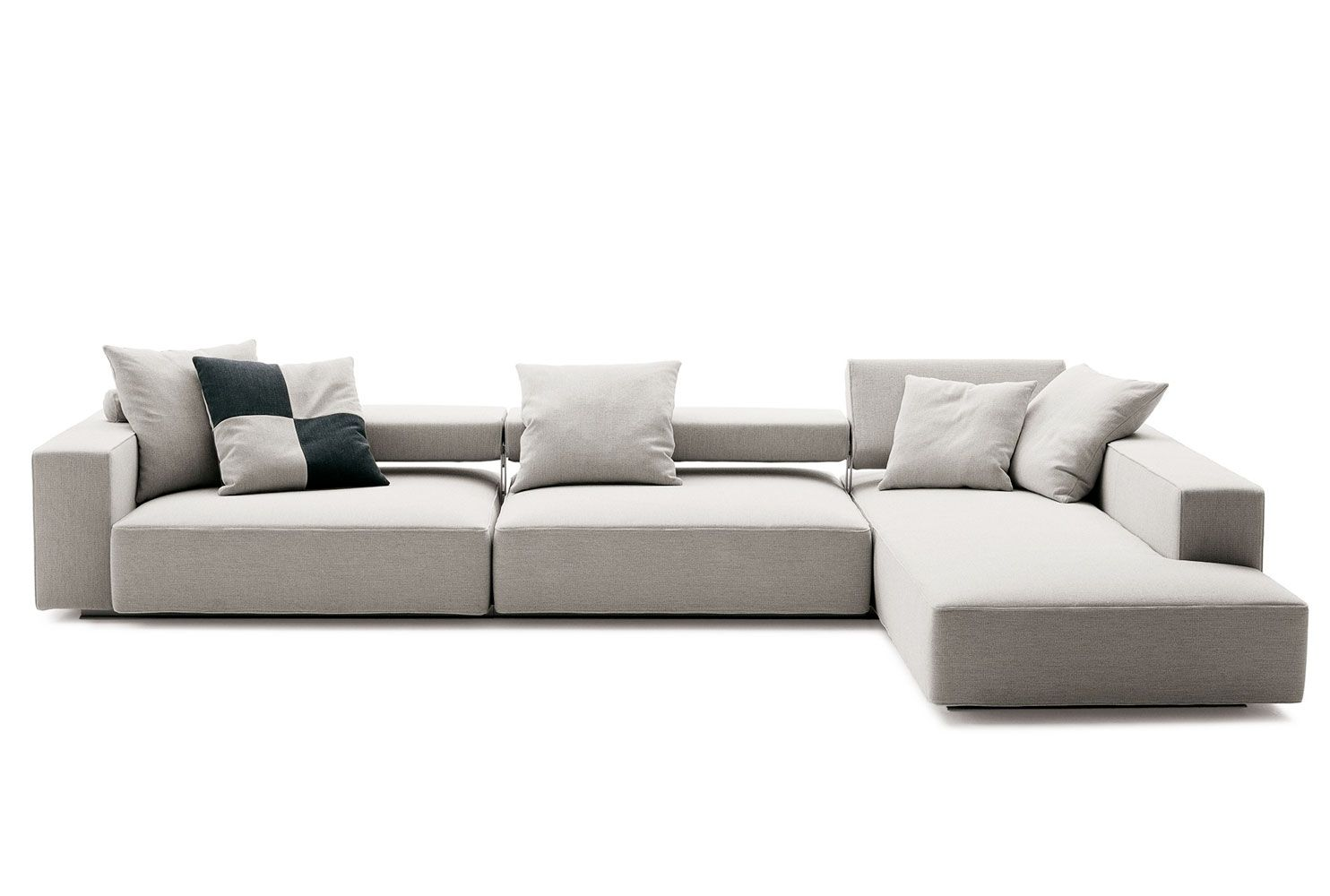 sofa andy collection b b italia design paolo piva