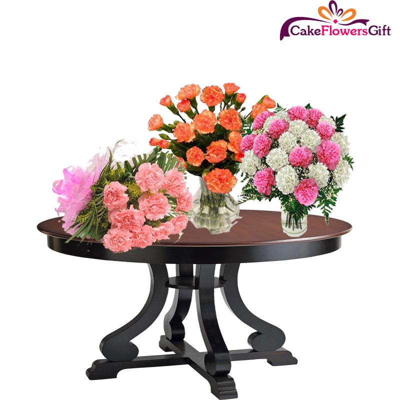 You Can Win The Troffy Of Love With The Help Of Carnation Flowers Order Carnation Flowers Bouqet B Flower Bouquet Delivery Carnation Flower Beautiful Flowers