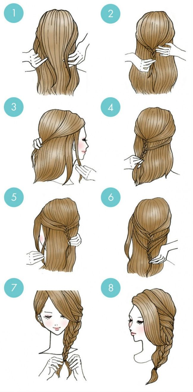 20 Cute Hairstyles That Are Extremely Easy To Do All For Fashion Design Hair Styles Long Hair Styles Easy Everyday Hairstyles