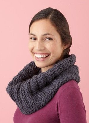 Ribbed Cowl pattern by toni