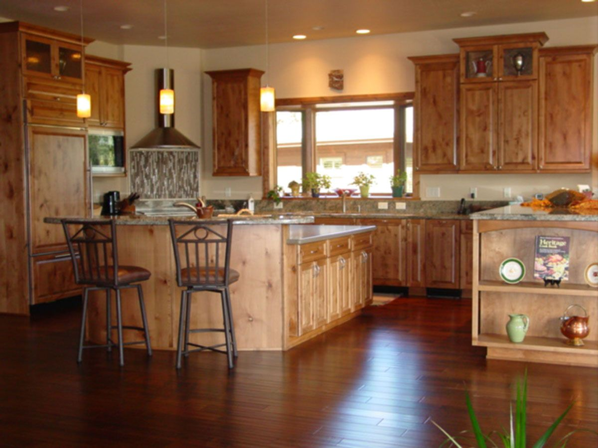 Best Alder Cabinets Kitchen Design With Knotty Alder Cabinet 400 x 300