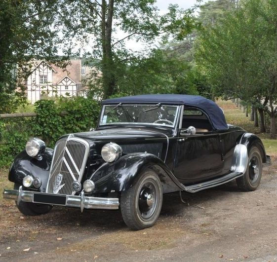 1950 citro n traction 15 six cabriolet par marcel bonhoure citro n traction avant pinterest. Black Bedroom Furniture Sets. Home Design Ideas