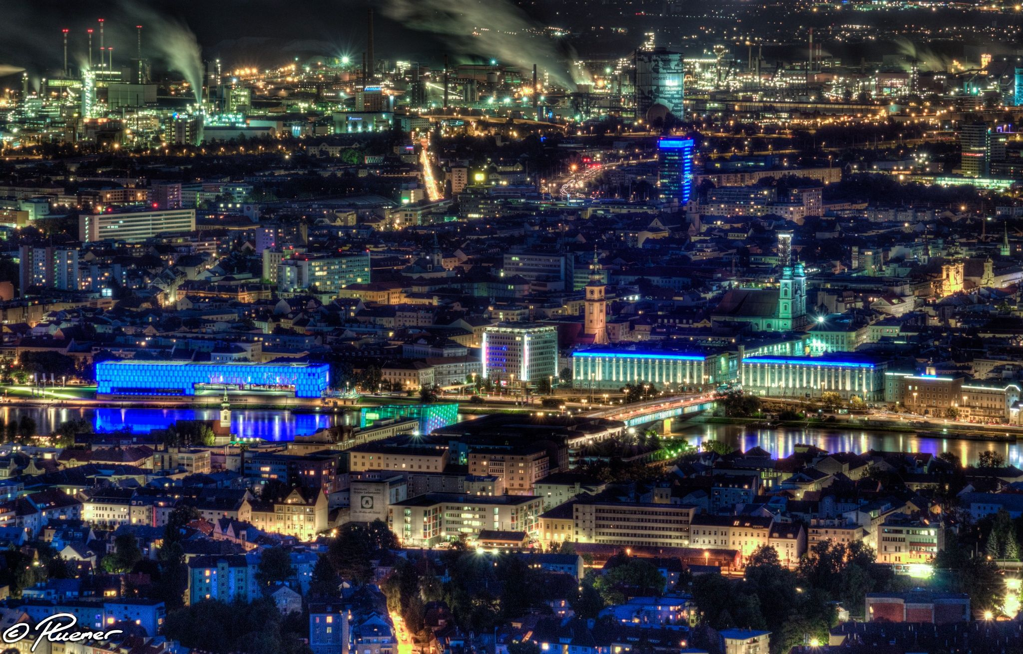 Linz - Austria HDR by Peter Huemer on 500px
