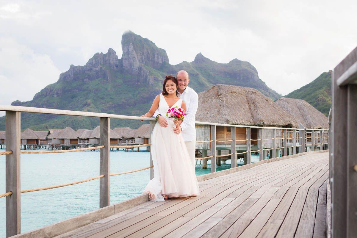 Getting married at the Four Seasons Resort Bora Bora.