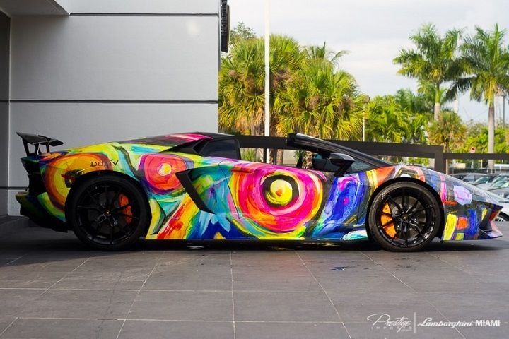 Aventador Roadster Car Fantasies Lamborghini Aventador