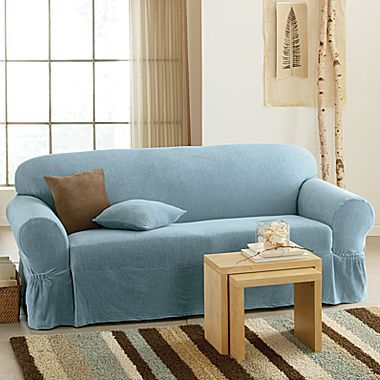 Slipcovers Collin One Piece Sofa Jcpenney Decorating