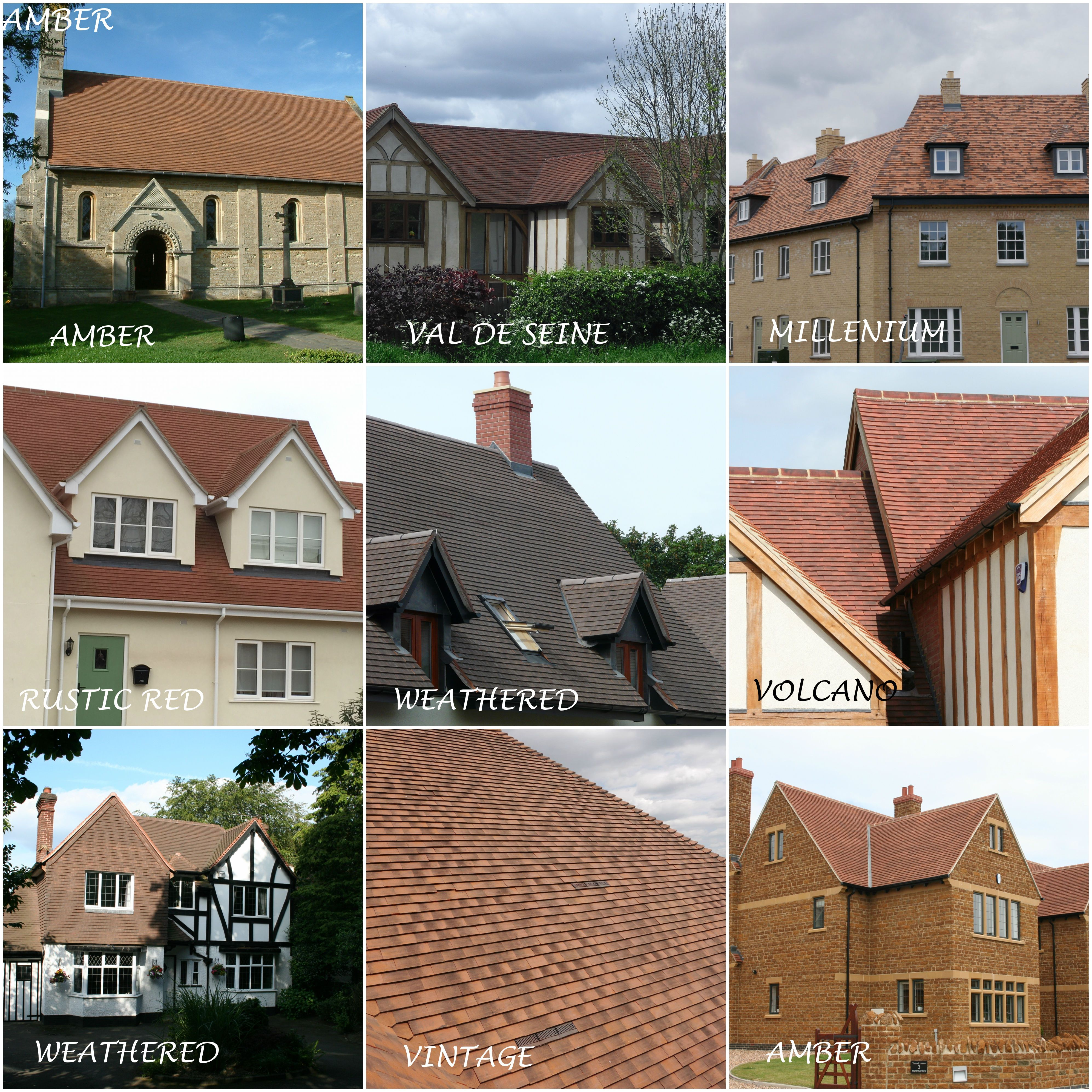 Check Out Our Imerys Machine Made Clay Roof Tile Range