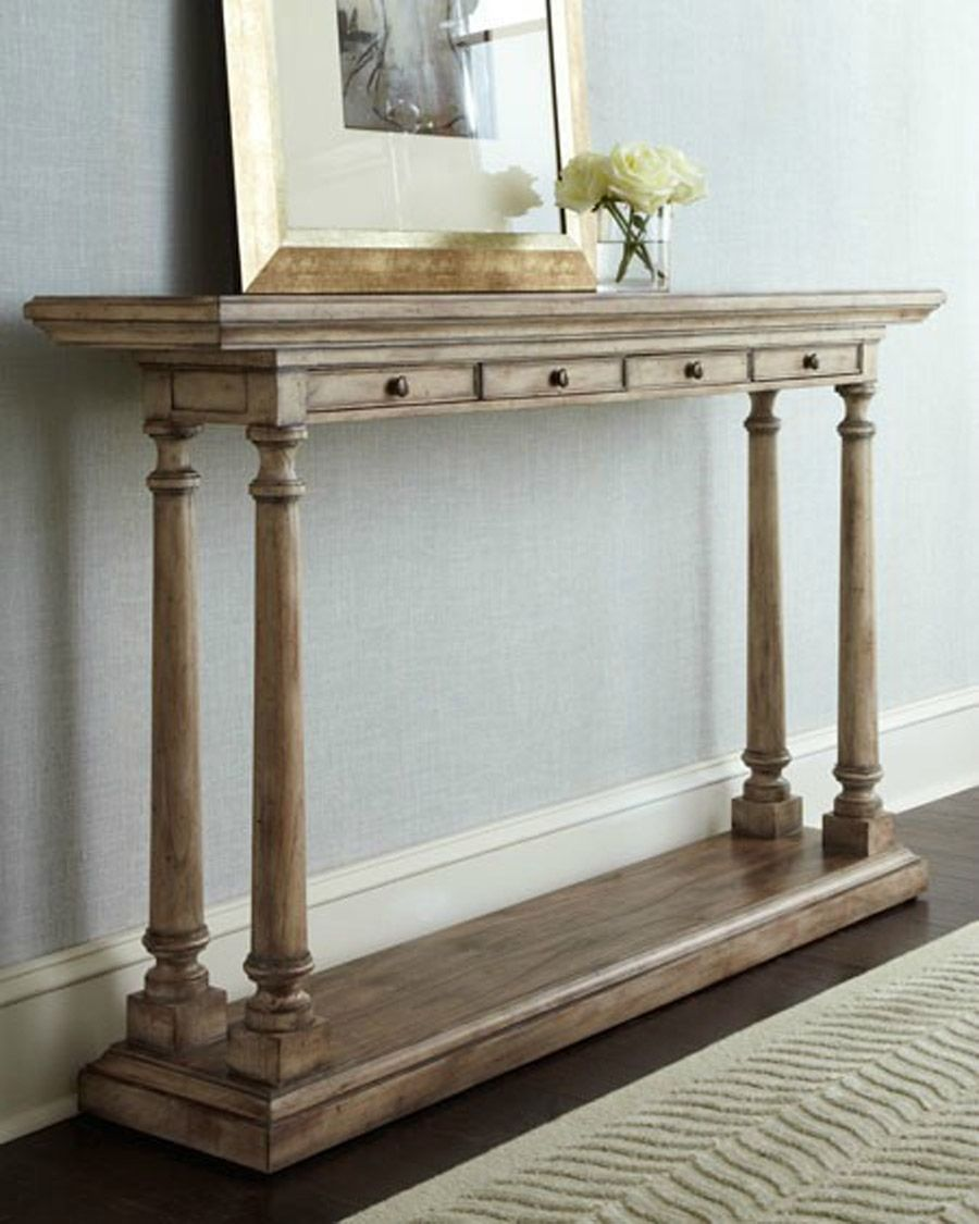 What To Expect From Narrow Console Tables In 2020 Narrow Console Table Farmhouse Console Table White Console Table