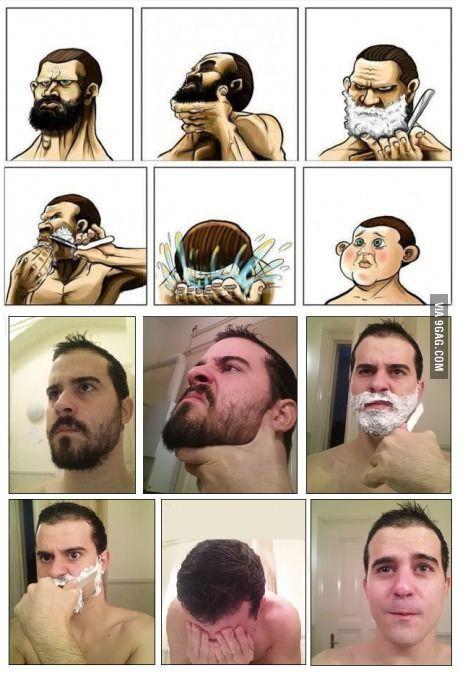 No Shave November Is Over Beard Humor No Shave November Baby