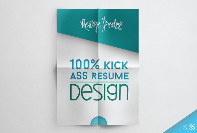 Get a custom Kickass Resume for just $5 Stuff to Buy - kick ass resume