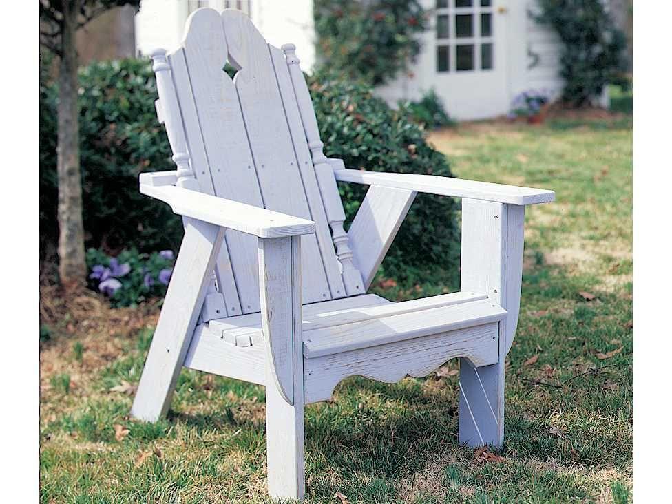 Wood Child Size Adirondack Chair