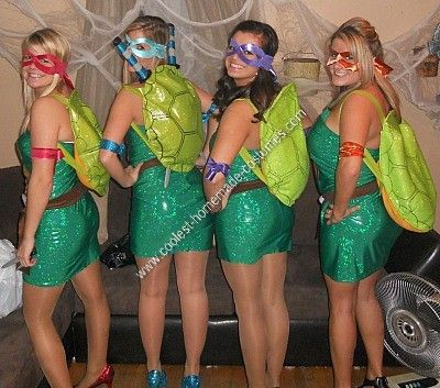 Coolest homemade teenage mutant ninja turtle group costume ideas  costumegroup halloween also best crafting images in fairies garden fairy gardens rh pinterest