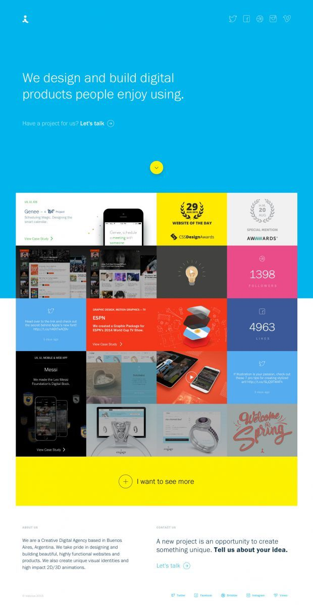We Take Pride In Designing And Building Beautiful Highly Functional Websites And Products We Also C Material Design Website Web Design Inspiration Web Design